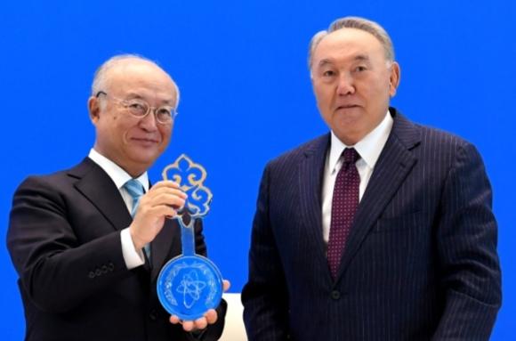 В Казахстан официално бе открита банката за ядрено гориво на МААЕ