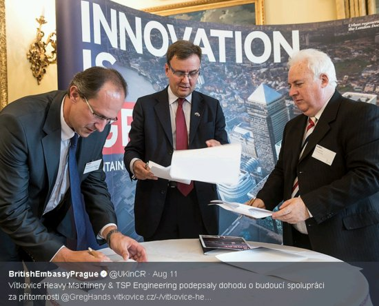 Британска и чешка фирма се договориха за съвместна дейност по извеждане от експлоатация на АЕЦ