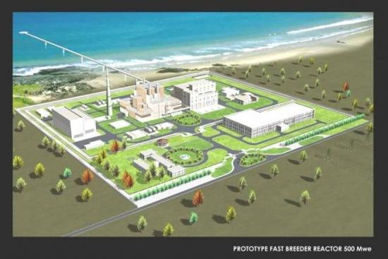 Индия ще строи завод за преработка на ОЯГ цел затваряне на горивния цикъл на РБН в Калпаккам