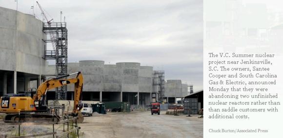 """След банкрута на Westinghouse – акционерите изоставят плановете за изграждане на двата нови енергоблока с AP-1000 на АЕЦ """"V.C. Summer"""""""