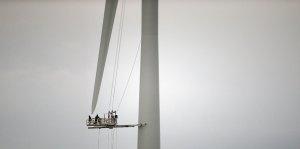 Финландия изгради първата си вятърна електроцентрала в Балтийско море