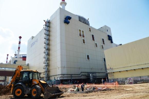 Горещата обкатка на строящия се блок № 4 на Ростовската АЕЦ ще продължи 32 денонощия