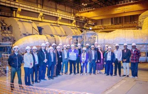 Представители на 20 държави посетиха строителната площадка на новите блокове на Ленинградскта АЕЦ