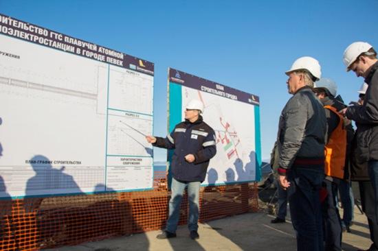 Чукотка – В Певек започна строителството на бреговия комплекс за ПАТЕЦ