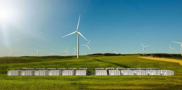 Tesla ще инсталира системи за съхранение на енергия и от вятърни генератори