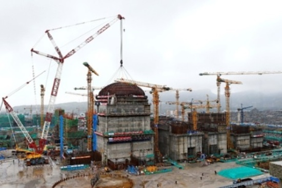 """Китай – Завърши строителството на ядрения остров на V блок на АЕЦ """"Тянван"""", започват монтажните дейности"""