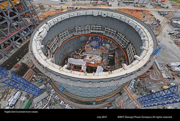САЩ – АЕЦ Vogtle – Партньорите ще продължат с проекта за изграждане на двата блока с AP-1000