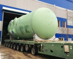 """Ижорските заводи изпратиха и втория корпус на реактора за АЕЦ """"Белене"""""""