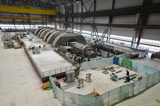 Ростовска АЕЦ – Пробното набиране на вакуум в турбината на пусковия 4-ти енергоблок е успешно