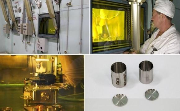 Първият източник на базата на кобалт-60 бе произведен в новия производствен участък на Росатом