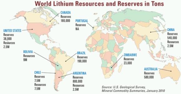 Reuters – Росатом се интересува от чилийския литий