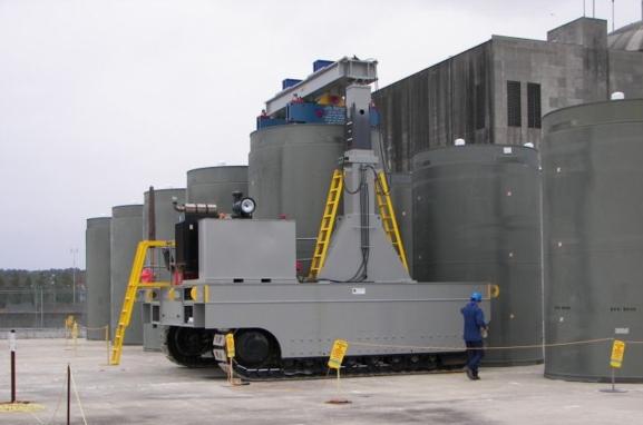 """""""Энергоатом"""" започна изграждането на хранилище за отработило ядрено гориво в Киевска област"""