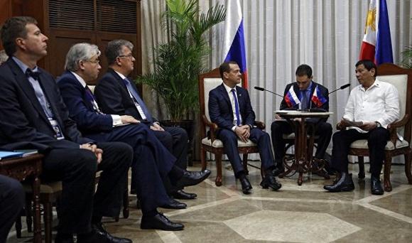 Русия и Филипините приеха редица съвместни документи, включително и в ядрената сфера