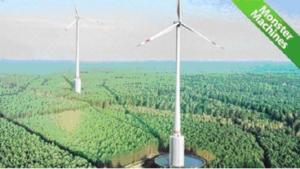 """Най-високата турбина в света започна да """"улавя вятъра"""" в във въздушните простори на Германия"""