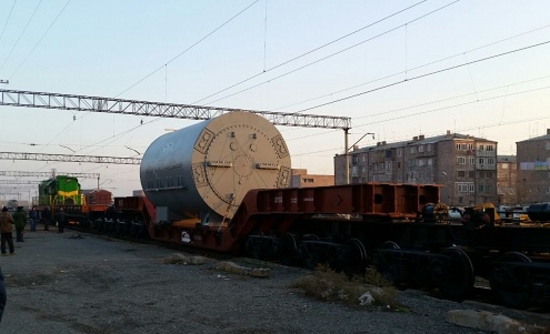 """Русатом сервис"" достави първия турбогенератор за Арменската АЕЦ"