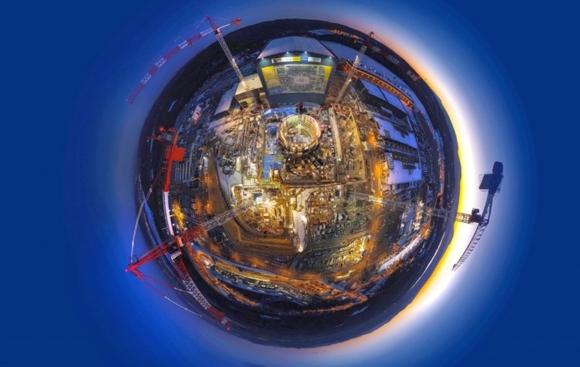Строителството на ITER е завършено на 50%