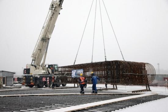 На Курската АЕЦ-2 стартира операцията на годината – армиране на фундаментната плоча на реакторното отделение (РО) на първи енергоблок
