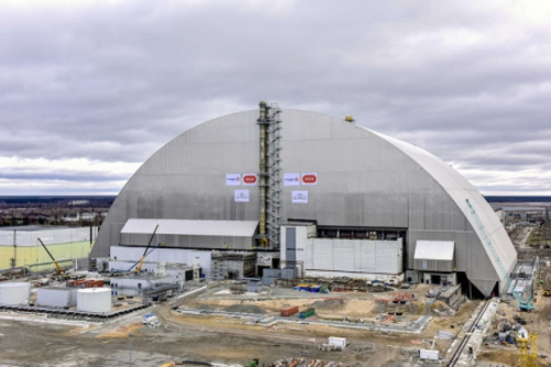 ЕБВР отчита прогрес при изграждането на новия защитен купол – New Safe Confinement (NSC) над 4-ти блок на Чернобилската АЕЦ