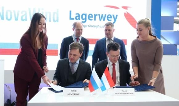 Руската вятърна индустрия бе подкрепена от съвместното предприятие между Rosatom и Lagerwey
