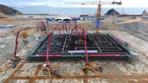 Китай започна да изгражда демонстрационен бърз реактор