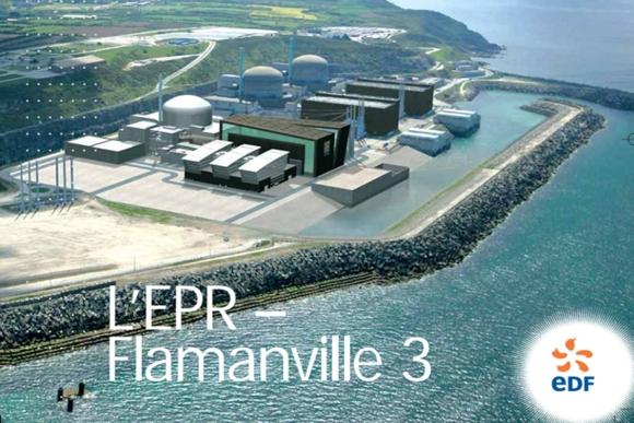 """АЕЦ """"Фламанвил-3"""" – Физпуск до края на годината, а енергиен през 2019-та"""
