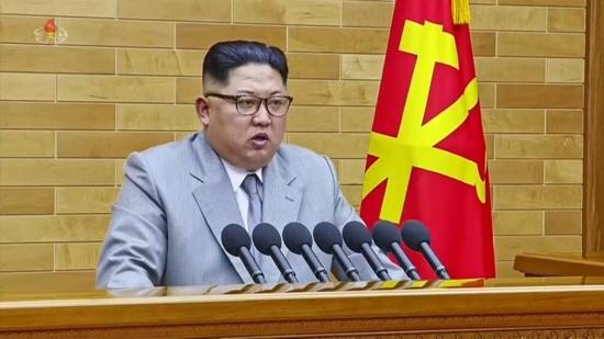 Ким Чен Ун поздрави нацията за Нова година, като обяви, че започва масово производство на ядрени бойни глави и балистични ракети.