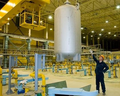 През 2017 година в Русия са преработени почти 11 хиляди тона обеднен уранов хексафлуорид (UF6)