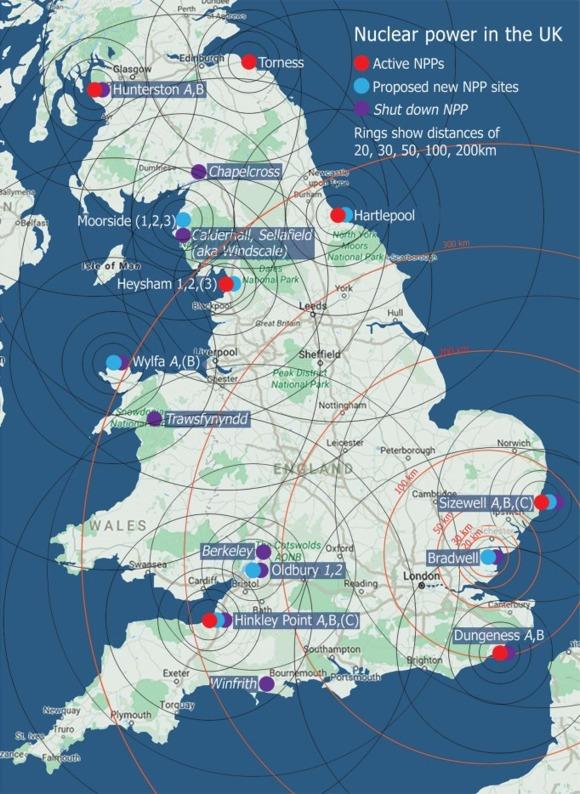 Великобритания – през 2017 година ядрената енергетика и ВЕИ са дали над половината от електроенергията на страната