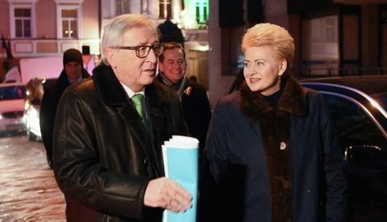 Президентът на Литва се срещна с председателя на Европейската Комисия