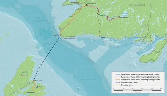 Изграждането на историческата междусистемна електропроводна мрежа в Канада навлезе в ключов етап