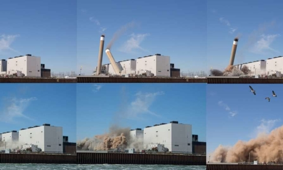 Канада – Разрушават най-голямата в Северна Америка въглищна ТЕЦ с мощност 3964 MW.