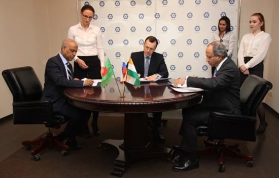 """Меморандум за разбирателство за сътрудничество при изграждане на АЕЦ """"Рупур"""" в Бангладеш подписаха Русия, Бангладеш и Индия"""