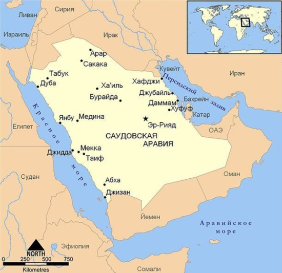 Саудитска Арабия планира за 20 години да построи 16 ядрени енергоблока на стойност 80 милиарда долара
