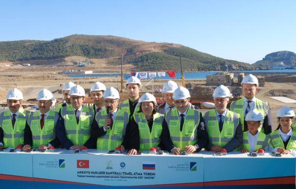 """Президентите на Русия и Турция дадоха старт на пълномащабното строителство на АЕЦ""""Аккую"""""""