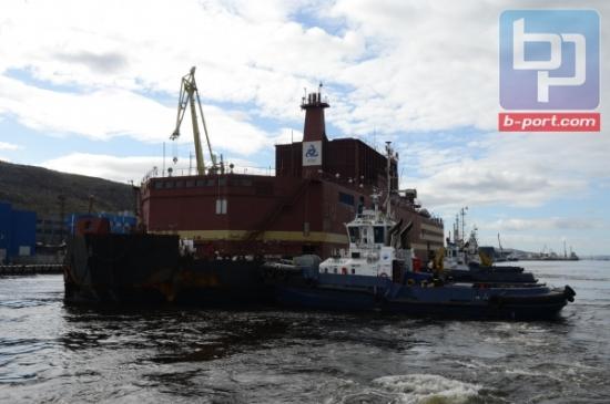 В Мурманск са готови за безопасното зареждане на плаващия енергоблок «Академик Ломоносов» с ядрено гориво