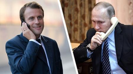 Макрон и Путин изразиха подкрепата си за съхраняване договореностите за Иран
