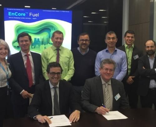 Westinghouse и испанската Enusa подписаха споразумение за разработване на толерантно ядрено гориво