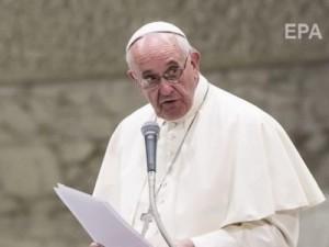 Папата призова към използване на алтернативни източници на енергия
