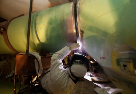 Беларуска АЕЦ – Главният циркулационен тръбопровод на втори блок бе заварен за рекордно кратко време