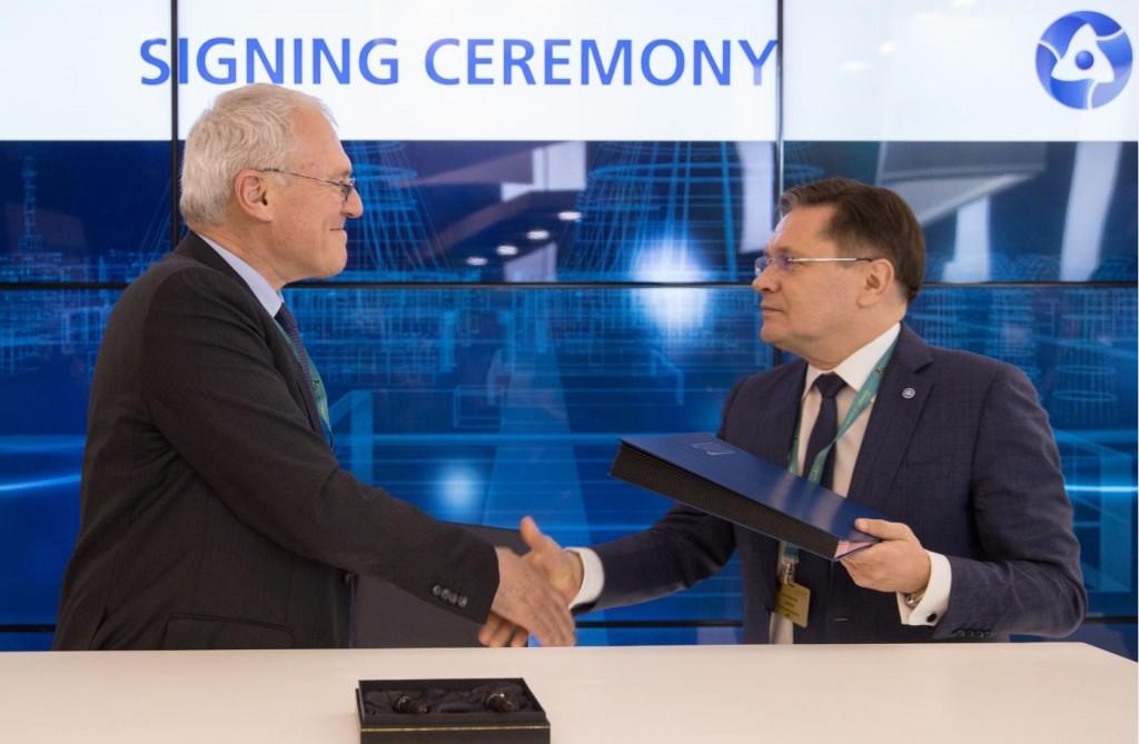 """""""Росатом"""" и EDF подписаха Меморандум за разбирателство в сферата на научните изследвания и разработки"""