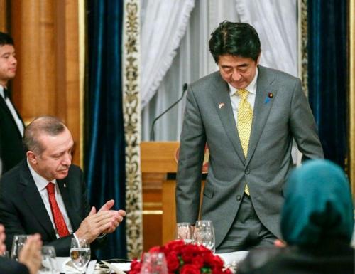"""Реджеп Ердоган и Шиндзо Абе обсъдиха изграждането на АЕЦ """"Синоп"""""""