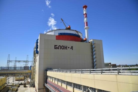 Ростовска АЕЦ – четвърти енергоблок е готов за сдаване в промишлена експлоатаци