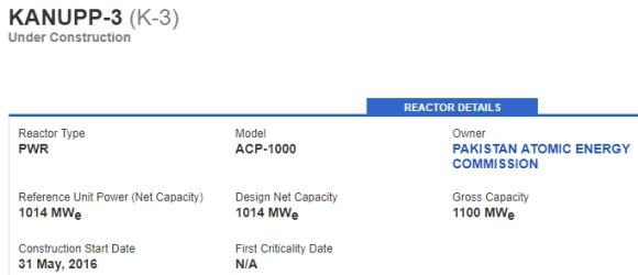 """Пакистан – Корпусът на реактора на трети блок на АЕЦ """"Kanupp"""" е доставен на площадката"""