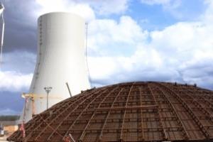 Беларуска АЕЦ: Завърши бетонирането на външната защитна обвивка на ядрения остров на първи енергоблок