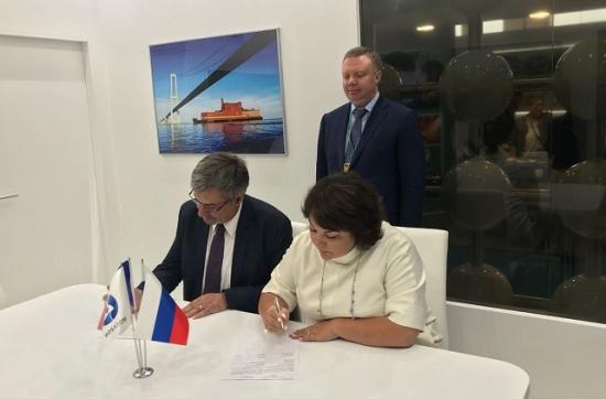 """""""Росатом"""" и френската SUEZ подписаха меморандум в областта на обезсоляване на водата и повторното и използване"""