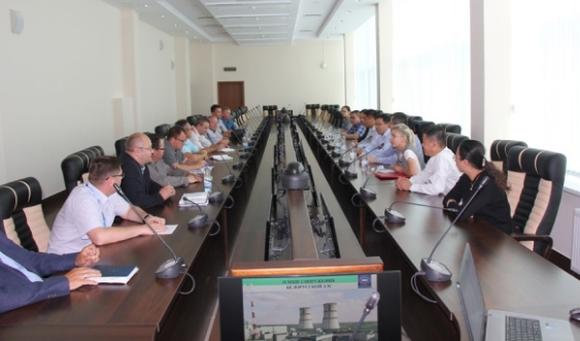 Китайска делегация от град Шанхай посети Беларуската АЕЦ