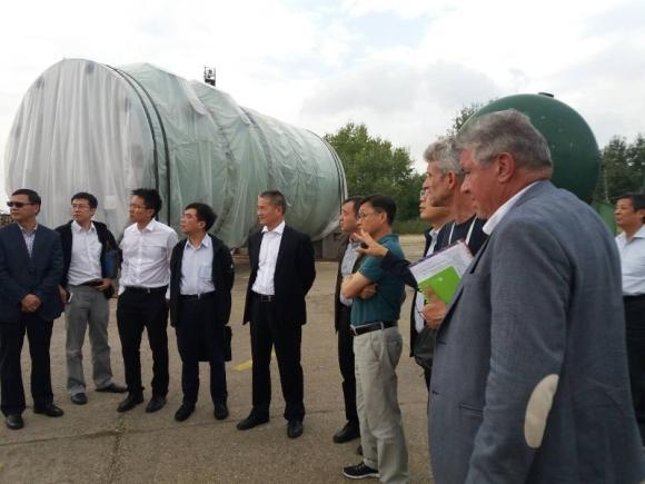"""Представители на китайската национална енергийна администрация посетиха площадката на АЕЦ """"Белене"""""""