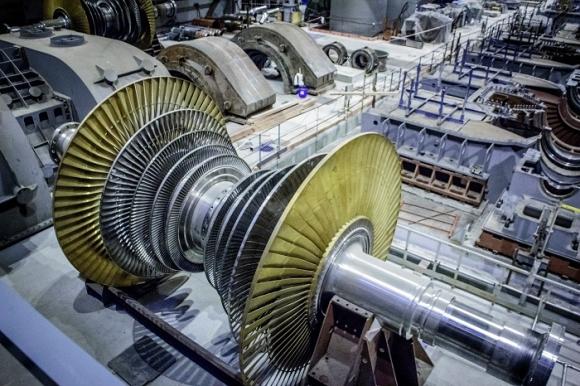 Ленинградска АЕЦ-2 – На изграждащия се втори енергоблок завърши монтажът на основното технологично оборудване на турбинния остров