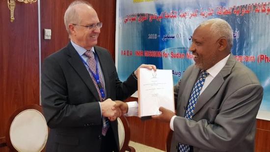 МААЕ извърши преглед на ядрената инфраструктура на Судан