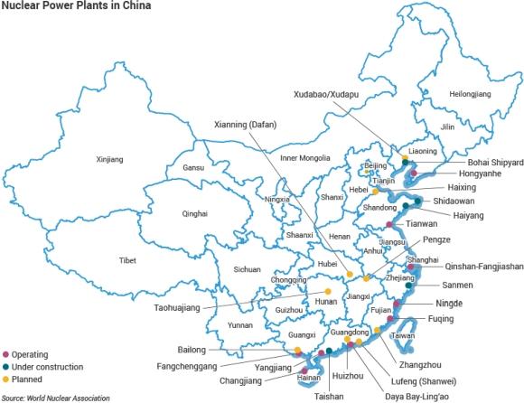 """Китай – """"Росатом"""" ще изгради 2 енергоблока в планираната нова АЕЦ """"Xudabao/Xudapu"""" до 2027-2028 година"""